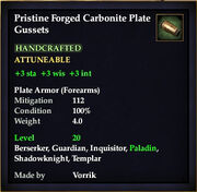 Carbonite Plate Gussets