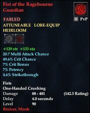 Fist of the Ragebourne Guardian