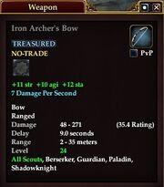 Iron Archer's Bow