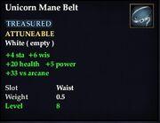 Unicorn Mane Belt