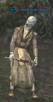 A cannibalistic ghoul