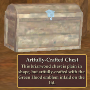Artfully-Crafted Chest