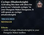 Cyclops (Shadowknight)