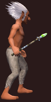 Warden's Wand of the Forest (Equipped)