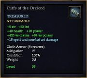 Cuffs of the Orclord