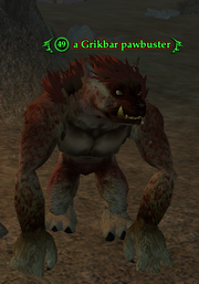 A Grikbar pawbuster