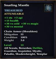 Snarling Mantle