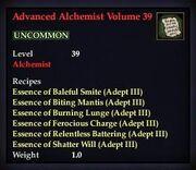 Advanced Alchemist Volume 39