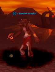 A Sootfoot ritualist