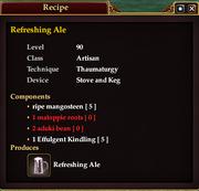 Refreshing Ale (Recipe)