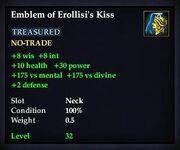 Emblem of Erollisi's Kiss