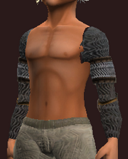 Iron Chainmail Mantle (Equipped)
