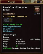 Royal Crate of Sharpened Spikes