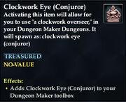Clockwork Eye (Conjuror)