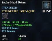 Snake Head Token
