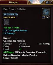 Everfrozen Stiletto
