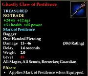 Ghastly claw of pestilence