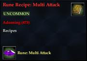 Rune Recipe- Multi Attack