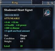 Shadowed Heart Signet (Equipment)