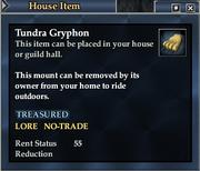 Tundra Gryphon (House Item)