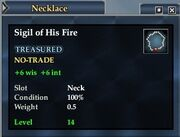 Sigil of His Fire