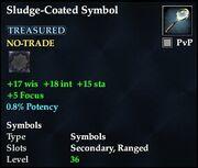 Sludge-Coated Symbol