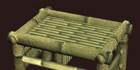Wantia bamboo stool