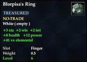 Blorpisa's Ring