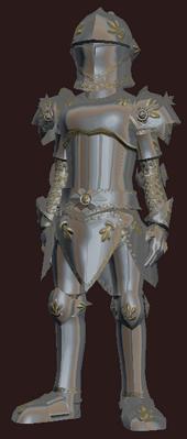 Luminous vanguard (Armor Set) (Visible, Male)