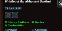 Wristlet of the Abhorrent Sentinel