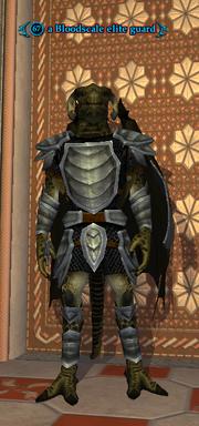 A Bloodscale elite guard
