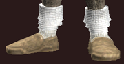 Adept's Woven Shoes (Equipped)