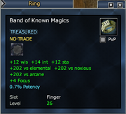 Band of Known Magics