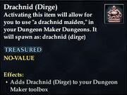 Drachnid (Dirge) - Common
