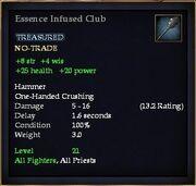 Essence Infused Club