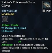 Raider's Thickened Chain Gloves