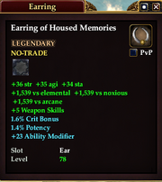 Earring of Housed Memories