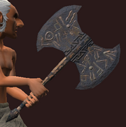 General's Wicked Axe (Equipped)
