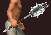 Jagged Edged Mace (Equipped)