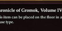 Chronicle of Gromok, Volume IV