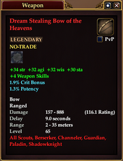 Dream Stealing Bow of the Heavens