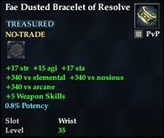 Fae Dusted Bracelet of Resolve