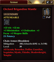 Orclord Brigandine Mantle
