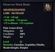Dwarven Work Boots (Plate)