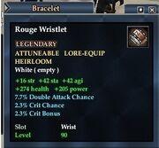 Rouge Wristlet