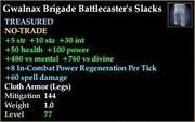 Gwalnax Brigade Battlecaster's Slacks