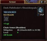 Dark Pathfinder's Shoulderpads
