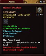 Helm of Devotion