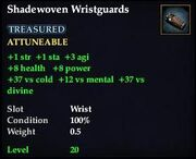 Shadewoven Wristguards