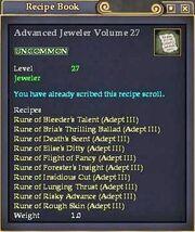 Advanced Jeweler Volume 27
